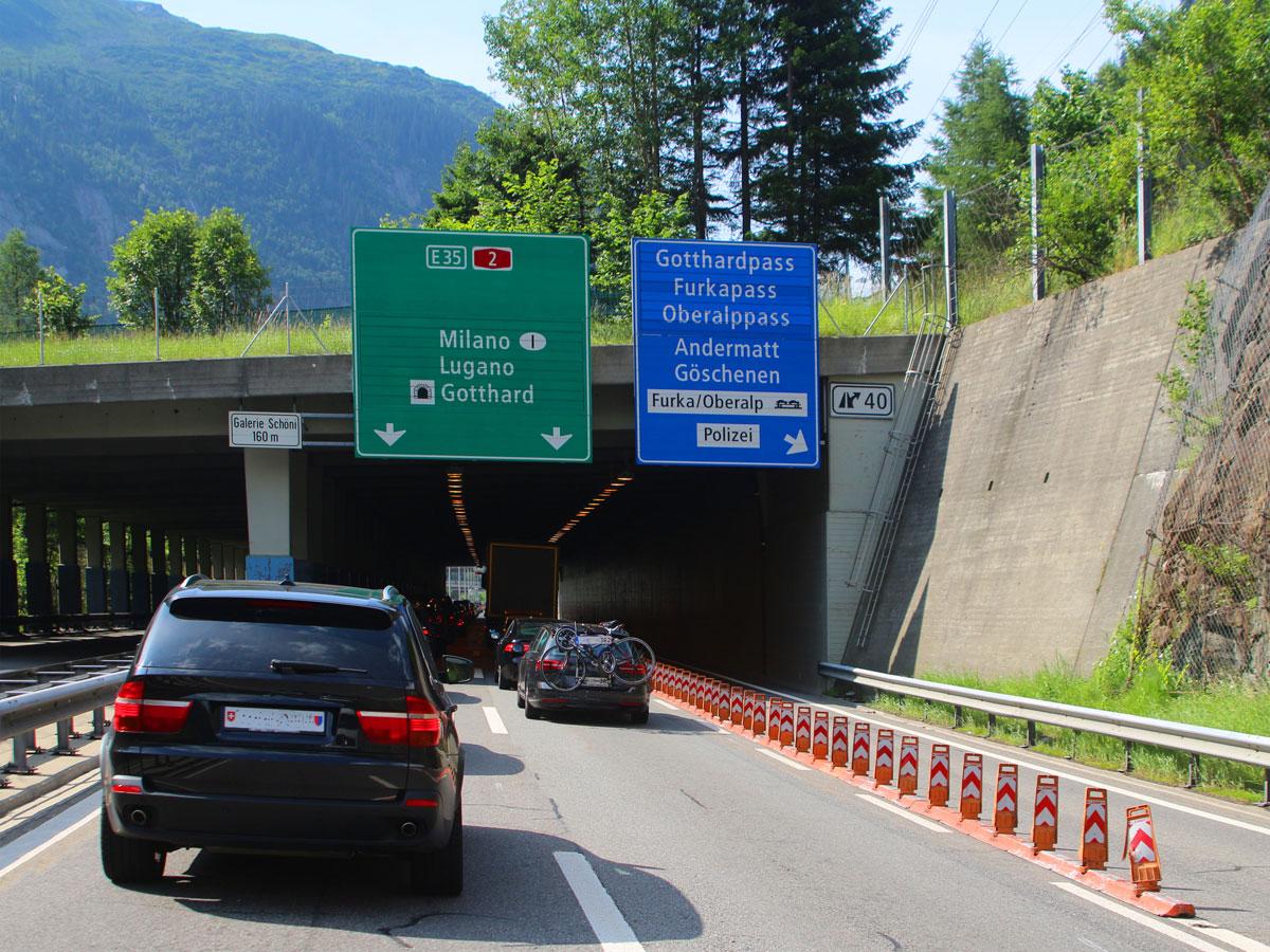 20 Fakten zum Gotthard-Basistunnel