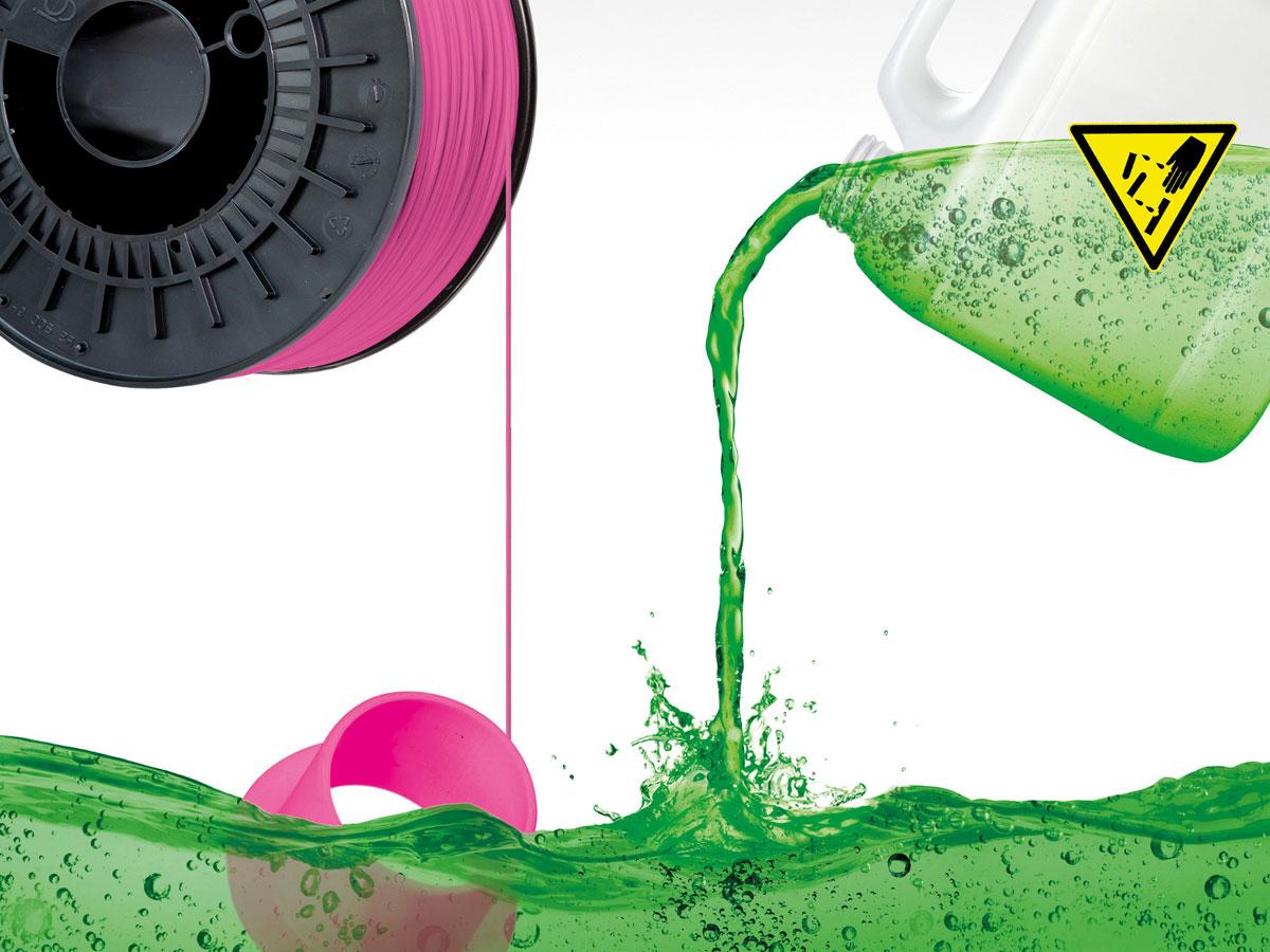 Chemikalienresistente Bauteile aus dem 3D-Drucker
