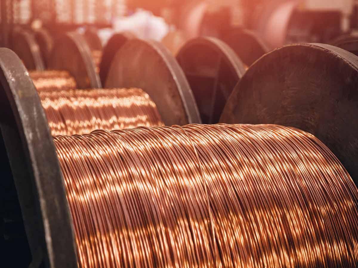 Die 10 größten Kupferproduzenten der Welt
