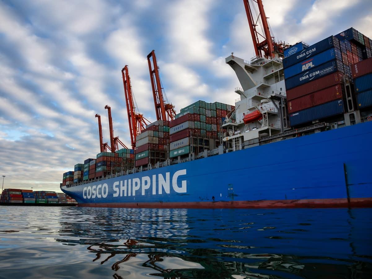 Das sind die größten Containerschiffe der Welt