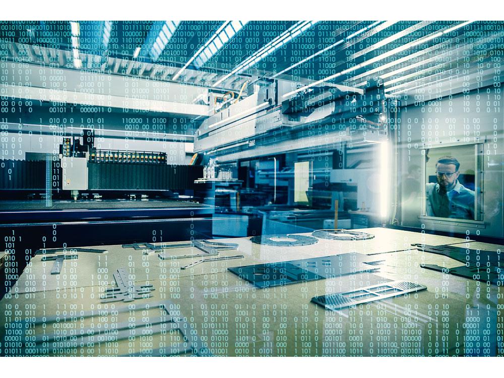 Trumpf läutet das Zeitalter der autonomen Fabrik ein