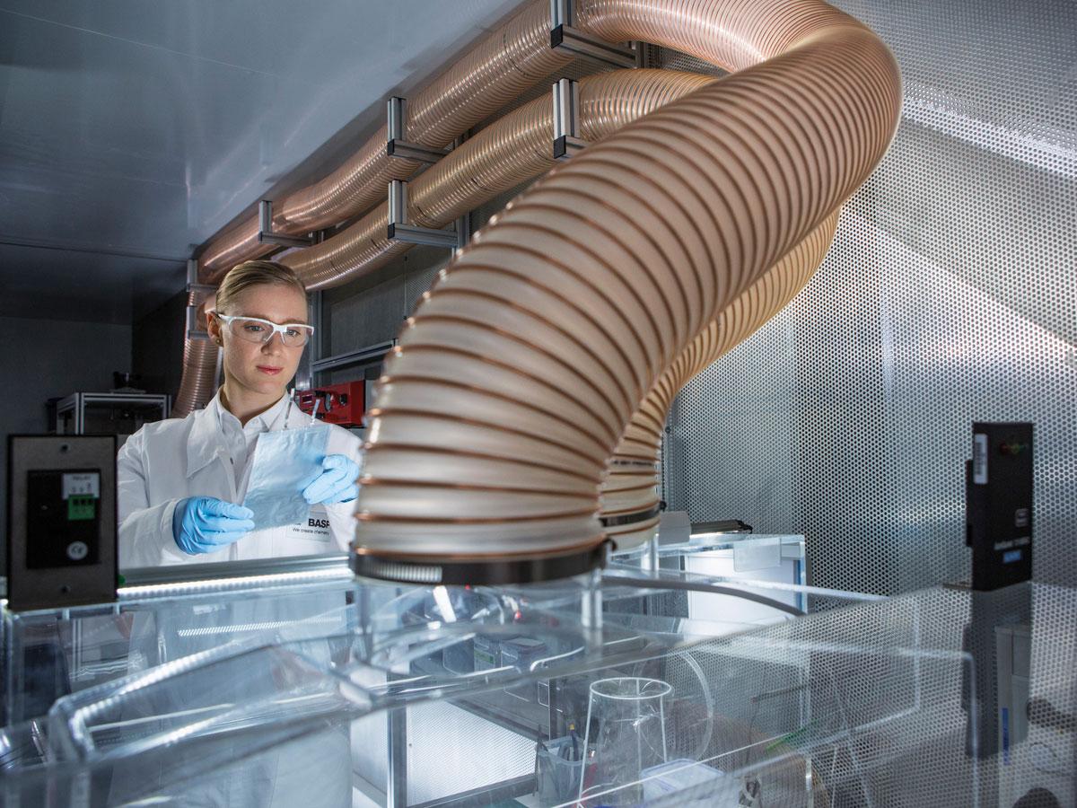 BASF baut neue Fabrik für Batteriematerialien