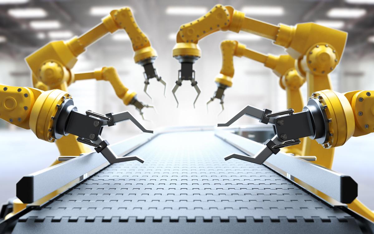 Jedes zweite Unternehmen nutzt Roboter
