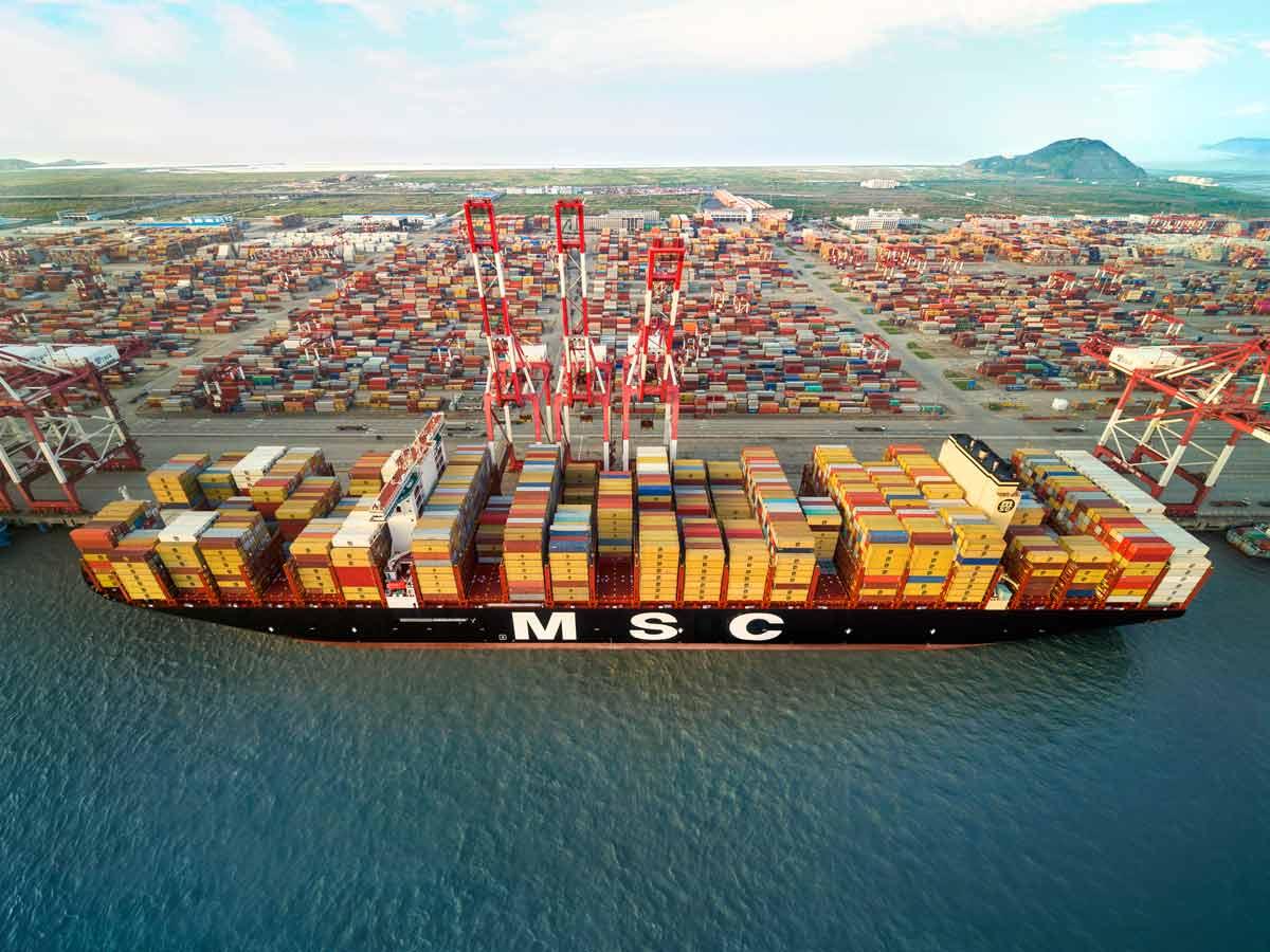 Neun Prozent weniger Container durch Corona