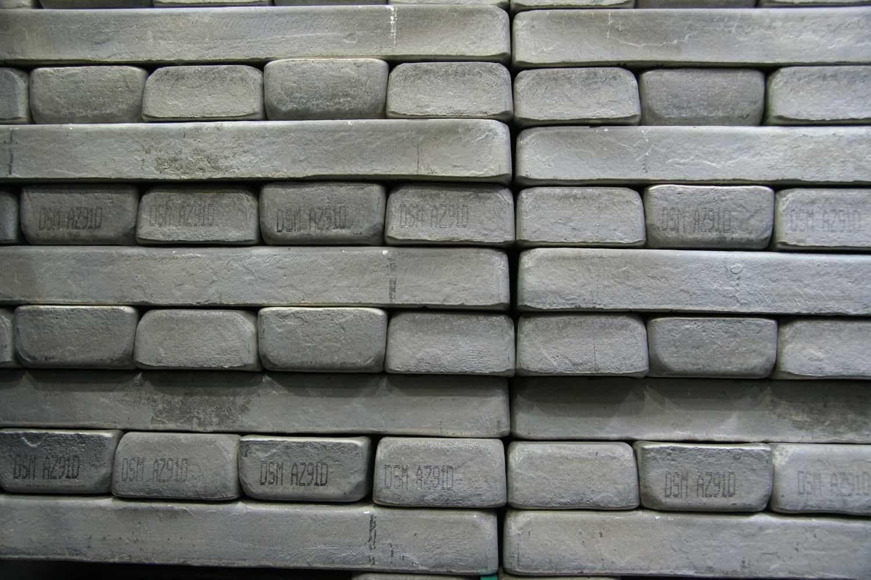 China dominiert Markt für Magnesiummetall