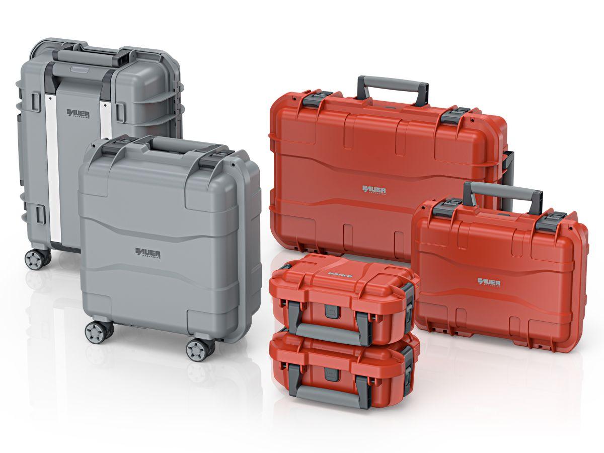 Mit Auer Schutzkoffern sensible Waren sicher transportieren