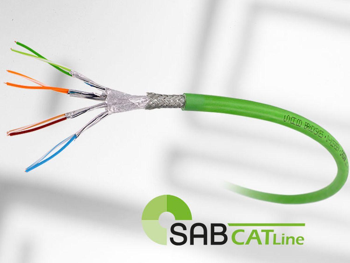 Hochflexible Leitungen für Industrie 4.0 von SAB