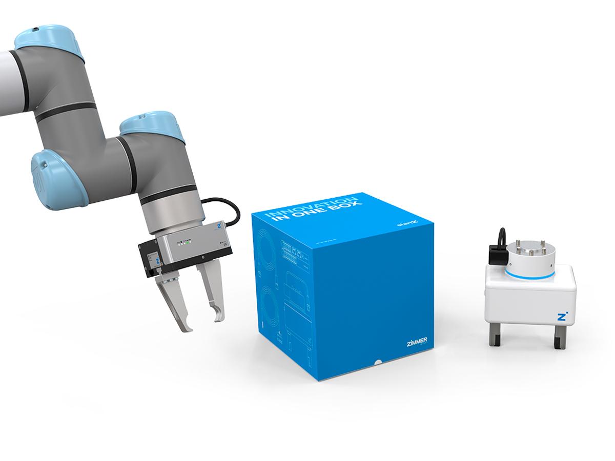 startZ – die Roboter-Starter-Box der Zimmer Group