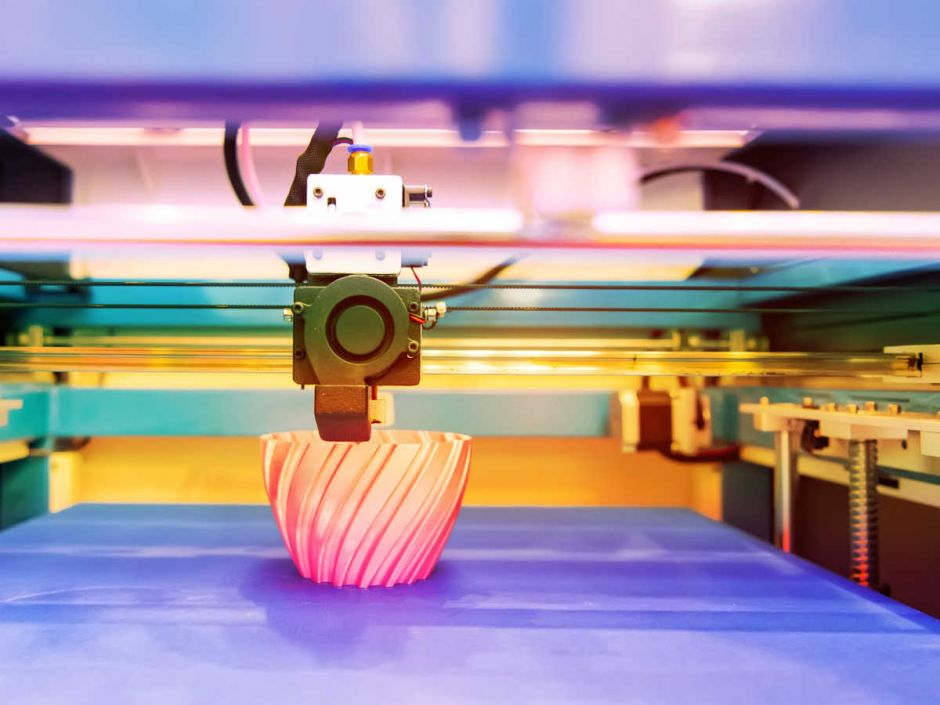 3D-Druck kann Lieferengpässe überbrücken