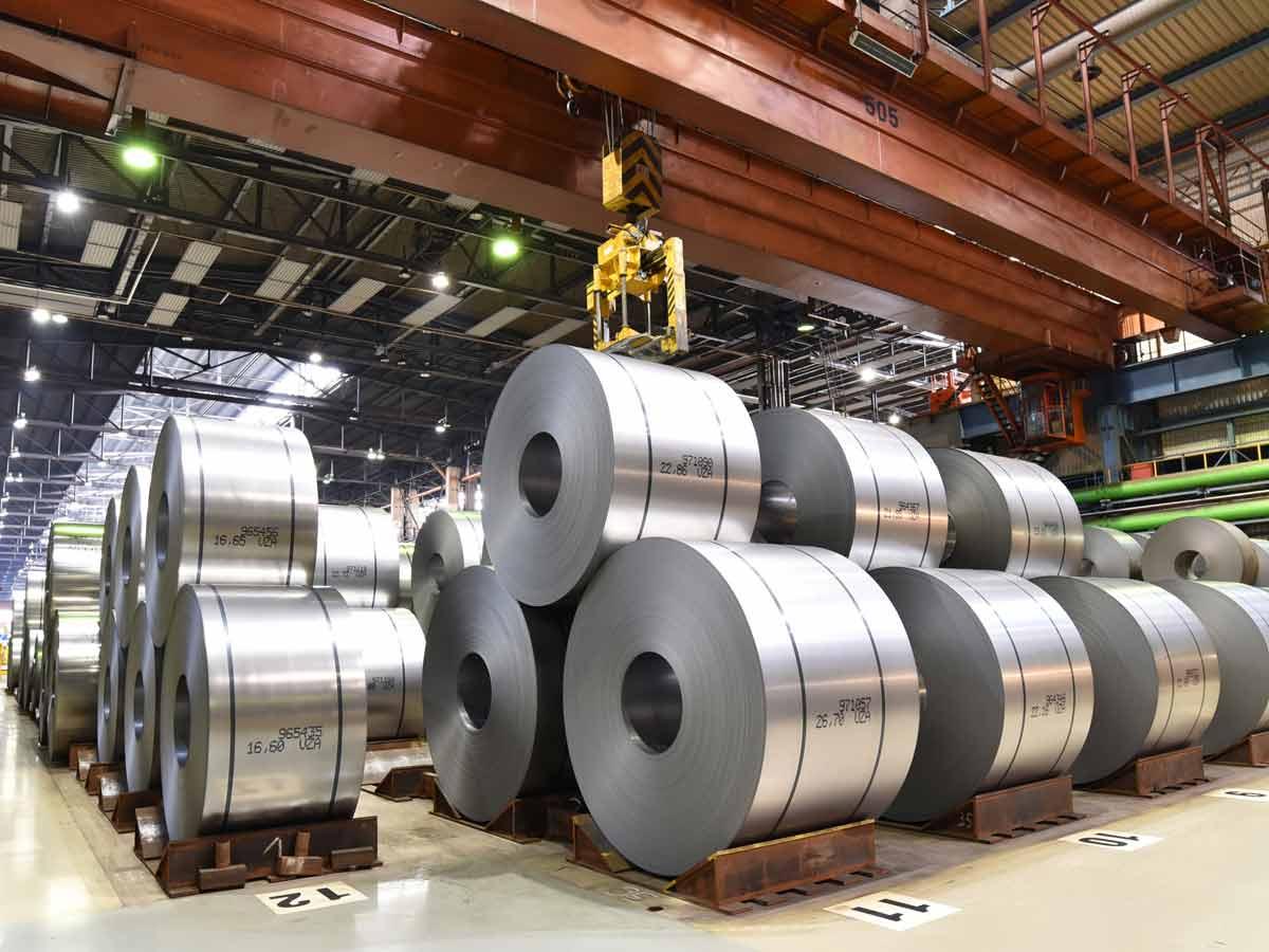 Materialbeschaffung in der Stahlindustrie